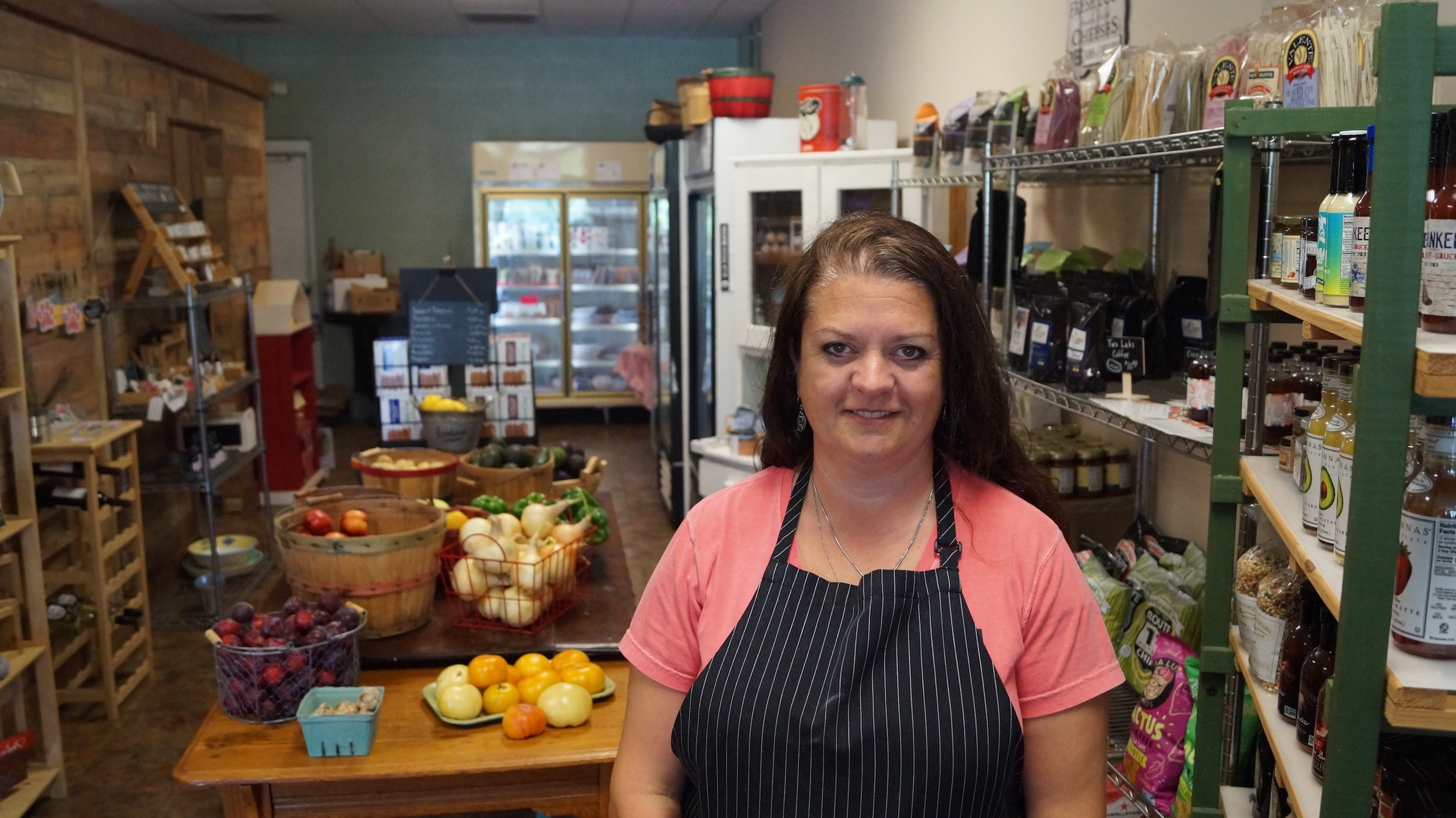 Amy Myers, owner of Local Eats in Fluvanna County